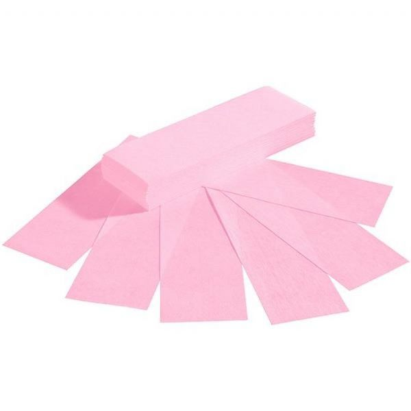 TNBL Pink Paper Wax Strips 100 Pieces